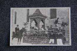 SISTERON - Carnaval Du 21 Avril 1924 - Char De La Reine De SISTERON - Sisteron