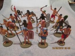 Lot De 16 Figurines 1/32 ATLANTIC - Egypte Ancienne - Très Belles Peintures - Sonstige