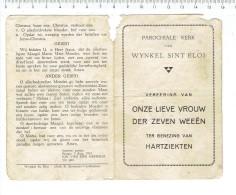 Kl 3006 Parochiale Kerk Van Wynkel Sint Elois O L V Der Zeven Weeen - Ter Genezing Van Hartziekten - Religion & Esotérisme