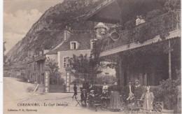 CHERBOURG - Le Café Delabaye - Marins En Terrasse - Animé - RARE - Cherbourg
