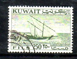 T569 - KUWAIT , Yvert N. 158  Usato . - Kuwait