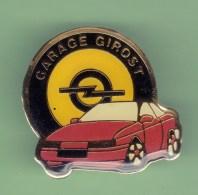 OPEL *** GARAGE GIROST *** A015 - Opel