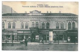 Romania ( 12336 ) - ARAD, Hotel Panonia, Stores - Old Postcard - Unused - Romania