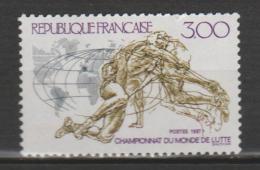 FRANCE  ,N°   2482   Championat Du Monde De Lutte - Nuevos