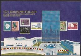 UN - United Nations New York 1977 MNH Souvenir Folder - Year Pack - Non Classés