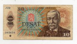 Cecoslovacchia - 1986 - Banconota Da 10 Corone - Usata - (FDC608) - Cecoslovacchia