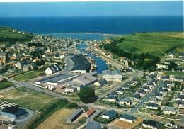Port-en-Bessin-Huppain... Belle Vue Aérienne Du Village - Port-en-Bessin-Huppain