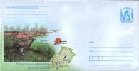 TH Belarus Stationery Cover Regular 2014 Eagle Bird Sanctuary MNH - Eagles & Birds Of Prey