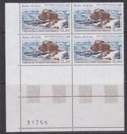 TAAF 1979 Rocher Du Lion 1v Bl Of 4 (corner) ** Mnh (32201) - Franse Zuidelijke En Antarctische Gebieden (TAAF)