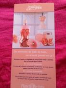 JEAN PAUL GAULTIER  LIGNE LE BAIN - Perfume Cards
