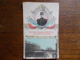 """2ème Régiment D'Infanterie  à GRANVILLE.""""je Vous Envoie Ce Souvenir"""" - Granville"""