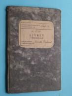 Livret Anno 1943 Liège WERKBOEKJE N° 3940 De Mariette Raymond Né 1925 Cheratte ( Zie Foto´s Voor Details ) ! - Autres Collections