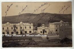 ALGERIE - BOGHARI KSAR EL BOUKHARI - GROUPE SCOLAIRE - ECOLE DE GARCONS - GOURBI - GARE - VUE D ENSEMBLE - CARTE PHOTO - Algeria