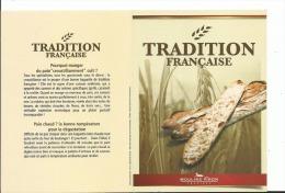 Calendrier 2015 /2016 Calendrier De Poche Mixte 2015/2016 , Boulangerie Moulins Viron Baguette Tradition Cuisson Du Pain - Small : 2001-...
