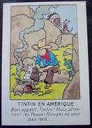 Tintin CP Amerique  Arno N° 50 De 1984 Etat Neuf - Cartes Postales