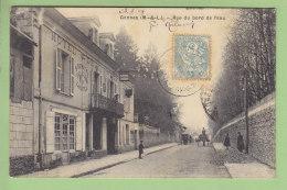 GENNES : Hôtel De La Loire, Barrau, Rue Du Bord De L'Eau. 2 Scans. - France