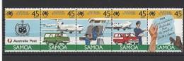 SAMOA  . YT  644/648  Neuf **  Bicentenaire De L'implantation Des Premiers Colons En Australie  1988 - Samoa