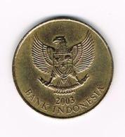 °°° INDONESIE  500  RUPIAH  2003 - Indonésie