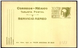 Messico/Mexique/Mexico: Intero, Stationery, Entier, Cuauhtemoc (Re Azteco, Re Aztèque, King Aztec) - Celebrità