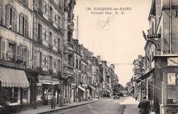 CPA 95 ENGHIEN LES BAINS GRANDE RUE - Enghien Les Bains