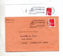 Lettre Flamme Puget Ecomusee - Postmark Collection (Covers)