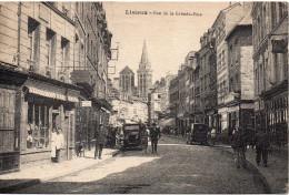 7600. CPA 14 LISIEUX. BAS DE LA GRANDE RUE - Lisieux