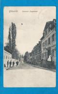 GEBWEILER    Oberstadt Hauptrasse     Animées      écrite En 1907 - France