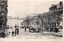 7605. CPA 14 LISIEUX. LA PLACE LEROY-BEAULIEU - Lisieux