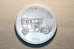 """Jeton Shell """"Automobile Renault 20/30 HP 1906""""  Token - Professionals/Firms"""