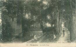 Cpa -    Maignelay -  La Vieille Tour   ,animée                AC222 - Maignelay Montigny