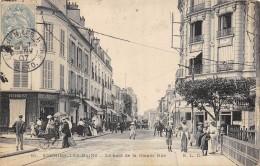 CPA 95 ENGHIEN LES BAINS LE HAUT DE LA GRANDE RUE 1907 - Enghien Les Bains