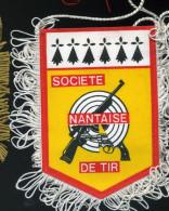 Autres Collections - Pub - Fanion - Société De Tir Nantaise - Nantes - Reclame