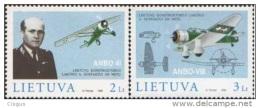 Lietuva Litauen 1998 MNH ** Mi. Nr. 662-663