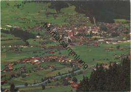 Frutigen - AK Grossformat - Luftaufnahme - Gel. 1980 - BE Berne