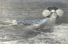 57512 ART ARTE WOMAN SENSUAL NUVE IN WATER POSTAL POSTCARD - Illustratoren & Fotografen