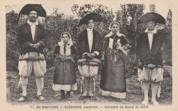Cpa - Guérande - Paludiers Du Bourg De Saillé - - Guérande