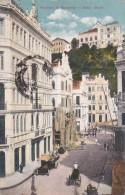 CPA  BRESIL  BRASIL BAHIA  Cidade TRAVESSA Da MONTANHA  Rua Animaçào Timbre 1915 - Salvador De Bahia