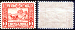 Italia-F01300 - Eritrea 1928-29: Sassone N. 130 (++) MNH - 10 Simili Valori (non A Scelta) - - Erythrée