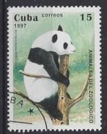 Cuba  1997  Zoo Animals (o) Panda - Cuba