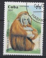 Cuba  1997  Zoo Animals (o) Orang-utan - Cuba