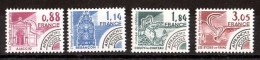 France - 1981 - Préoblitérés N° 170 à 173 - Neufs ** - Monuments Historiques - 1964-1988