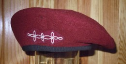 Béret 1er RHP  -  1er Régiment De Hussards Parachutistes - Casques & Coiffures