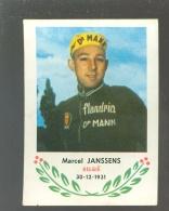 Chromo ( 6230 ) Cyclisme - Coureur - Wielrenner - Renner - Cycliste : N° 104 Marcel Janssens - Wielrennen