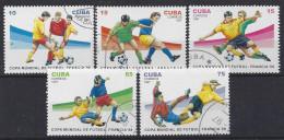 """Cuba  1997  Football World Cup """"France`98"""" (o) - Cuba"""