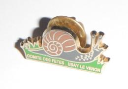 Escargot Usay Le Venon  Comité Des Fêtes - Animaux
