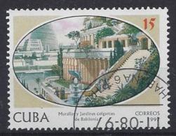 Cuba  1997  7 Wonders Of The World (o) - Cuba