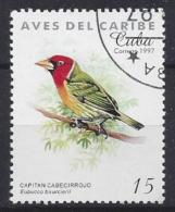 Cuba  1997  Birds (o) Red-headed Barbet - Cuba