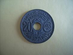 20 Centimes Lindauer 1945 Zinc Ec - E. 20 Centimes