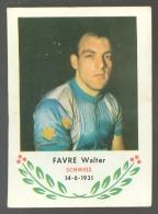 Chromo ( 6249 ) Cyclisme - Coureur - Wielrenner - Renner - Cycliste : N° 45 Favre Walter - Wielrennen