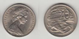 AUSTRALIE 20 CENTS 1973 - 20 Cents